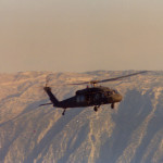 Operation Desert Storm - Blackhawk Over Tigris River from UH-1H Huey Mission